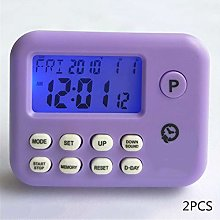OUY Kitchen Timers 2 Pieces LED Digital Cooking