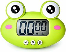 OUY Kitchen Timers 4PCS Cartoon Frog Shape Kitchen