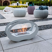 Oval - Bio fireplace for table