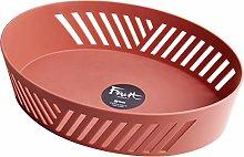 Oval Plastic Kitchen Vegetables Drain Basket