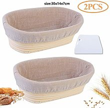 Oval/Round Natural Rattan Bread Proofing