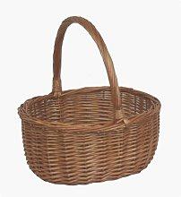 Oval Shopping Wicker Basket Brambly Cottage
