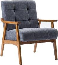 Ovalle Armchair Blue Elephant Upholstery Colour: