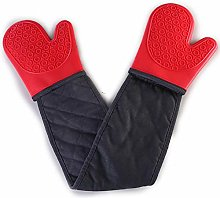 Oven Baking Gloves Heat Resistant Kitchen Long