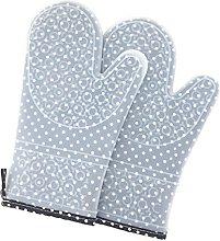 Oven Glove Unisex 1 Pair Silicone Oven Glove Heat