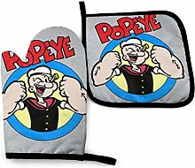 Oven Gloves and Pot Holders,Popeye Put Up Your