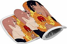 Oven Gloves and Pot Holders Set Vampires Oven