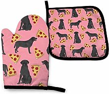 Oven Gloves and Pot Holders Sets,Labrador