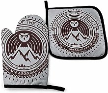 Oven Gloves and Pot Holders,Twin Peaks Servents of