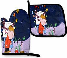Oven Gloves and Pot Lids A-Charlie Brown Christmas