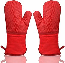 Oven Gloves Heat Resistant 500℉ Silicone Stripe