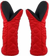 Oven Gloves Heat Resistant Gauntlet Long Oven