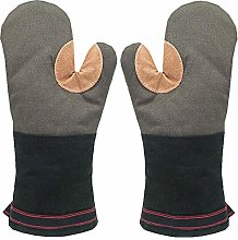 Oven Gloves Heat Resistant Gauntlet Long Thick