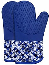 Oven Gloves Heat Resistant Silicone Shell Kitchen
