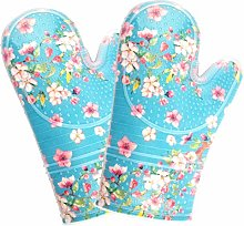 Oven Gloves Heat Resistant to 500 F Oven Mitts