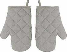 Oven Gloves (Pair) Grey