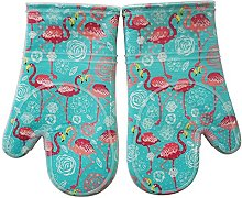 Oven Gloves With Silicone set of 2, Heat Resistant