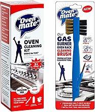 Oven Mate Gel Cleaning Kit + Rack/Hob Gas Burner