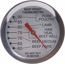 Oven Meat Thermometer Dial - Leave in Oven for