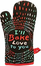 "Oven Mitt ""I'll Bake Love To You"