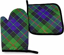 Oven Mitt And Pot Holder Sets Scots Style Clan