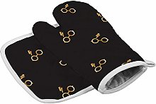 Oven Mitt and Potholder (2-Piece Sets), Wizarding