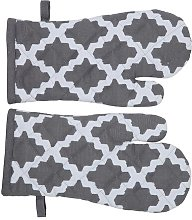 Oven Mitt (Set of 2) Brambly Cottage Colour: