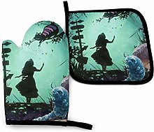 Oven Mitts and Pot Holders - Alice in Wonderland