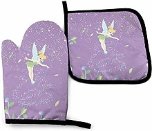 Oven Mitts and Pot Holders - Beauty Tinkerbell