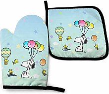 Oven Mitts and Pot Holders - Flying Snoopy Heat