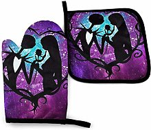 Oven Mitts and Pot Holders - Jack and Sally