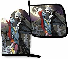 Oven Mitts and Pot Holders - Jack Skellington