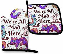 Oven Mitts and Pot Holders - mad Alice in