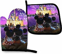 Oven Mitts and Pot Holders - Minnie and Mickey