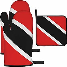 Oven Mitts and Pot Holders Set,Trinidad And Tobago