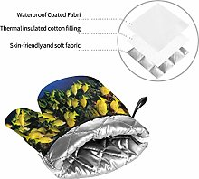 Oven Mitts and Pot Holders Sets of 4,Tropical Fish