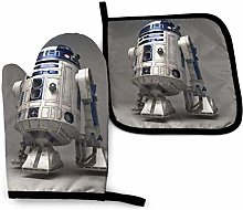 Oven Mitts and Pot Holders Sets S-Tar R-Obot R2 D2