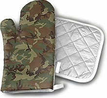 Oven Mitts and Pot Holders,Woodland Universal Camo