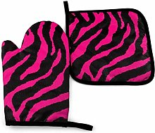 Oven Mitts and Pot Holders,Zebra Tiger Leopard