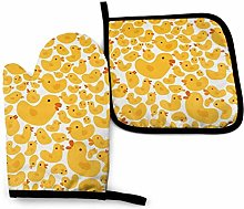 Oven Mitts and Potholders (2-Piece Sets),Cute