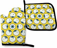 Oven Mitts and Potholders (2-Piece Sets),Lots of