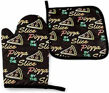 Oven Mitts and Potholders (2-Piece Sets),The Pizza