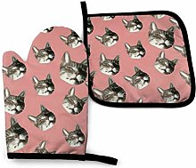 Oven Mitts And Potholders The Cat Has A Lovely