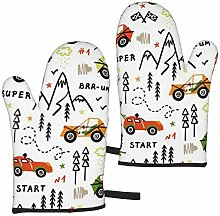 Oven Mitts Kitchen Long Microwave Oven Gloves,Toy