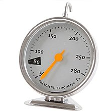 Oven Thermometer, Stainless Steel Oven Monitor