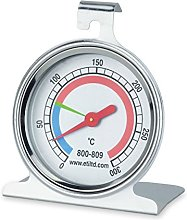 oven thermometer with 55mm dial - stainless steel