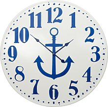 Over Large Nautical Wall Clock