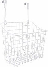 Over The Cabinet Door Storage Basket Large Metal