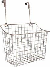 Over The Cabinet Door Storage Basket Large Metal