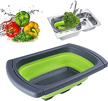 Over-The-Sink Collapsible Colander, Xuanlan